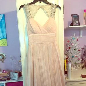 Pink formal dress. Prom or bridesmaids.